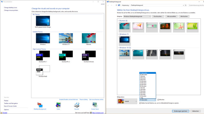 Windows 10 desktop hintergrunde pfad