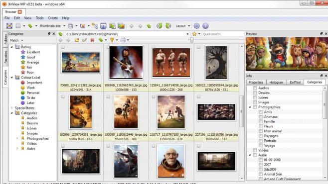 XnView: Bilder ohne App ansehen und verändern ©COMPUTER BILD