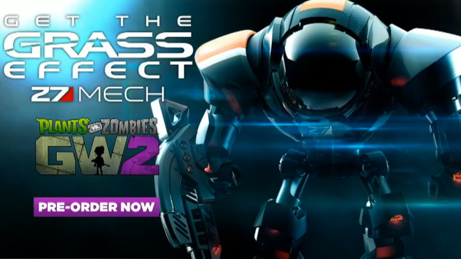Pflanzen vs. Zombies – Garden Warfare 2: Grass Effect © Electronic Arts