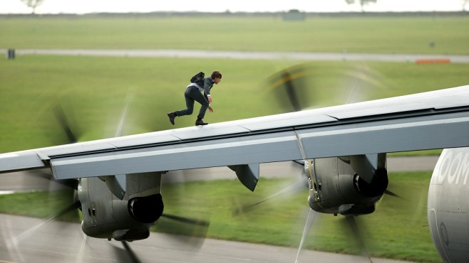 Mission: Impossible - Rogue Nation: Flugzeug, Action ©Paramount Pictures