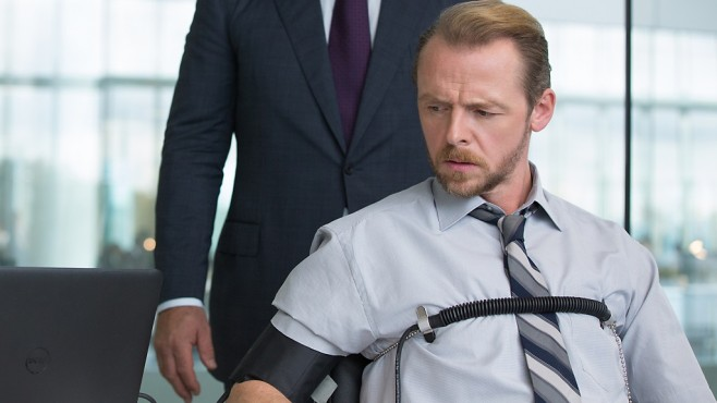 Mission: Impossible - Rogue Nation: Simon Pegg ©Paramount Pictures