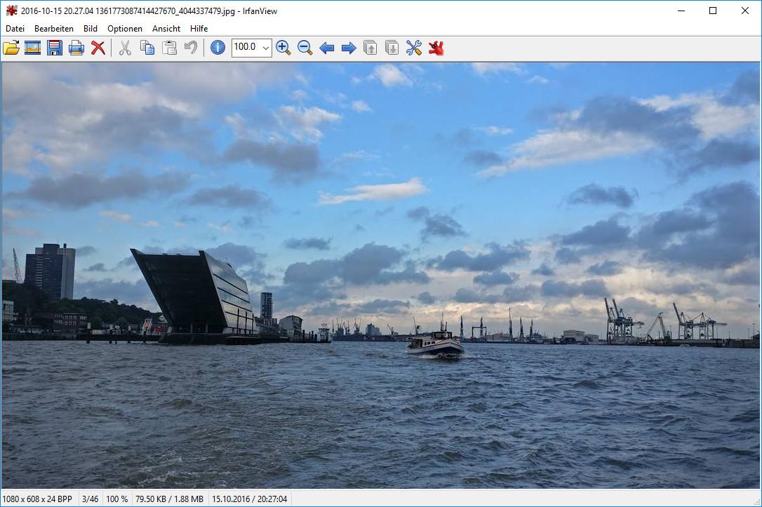 Screenshot 1 - IrfanView (64 Bit)