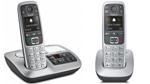 Das Gigaset E550 ist mit oder ohne Anrufbeantworter erhältlich.©Gigaset
