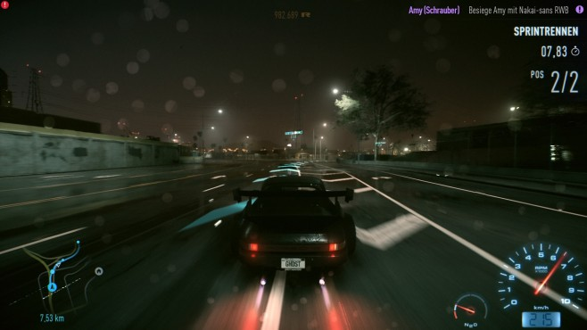 Need for Speed: Nacht ©EA