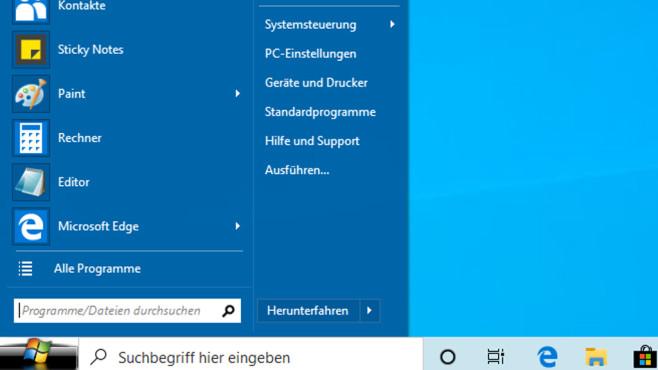 Open Shell Menu (11): Richtig konfigurieren und nutzen©COMPUTER BILD