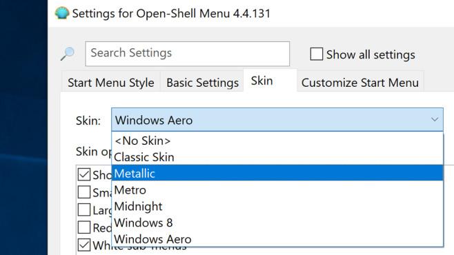 Open Shell Menu (14): Richtig konfigurieren und nutzen ©COMPUTER BILD