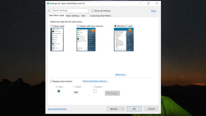 Open Shell Menu (2): Richtig konfigurieren und nutzen ©COMPUTER BILD