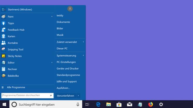 Open Shell Menu (5): Richtig konfigurieren und nutzen ©COMPUTER BILD