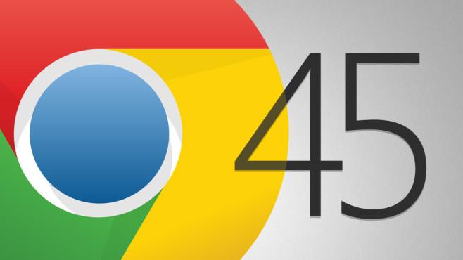 Google Chrome 45©Google