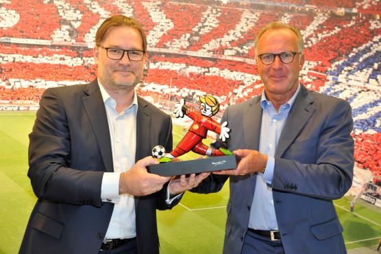 Gigaset-Platinum-Partnerschaft mit FC Bayern©Gigaset