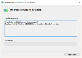 Media Feature Pack für Windows 10 N