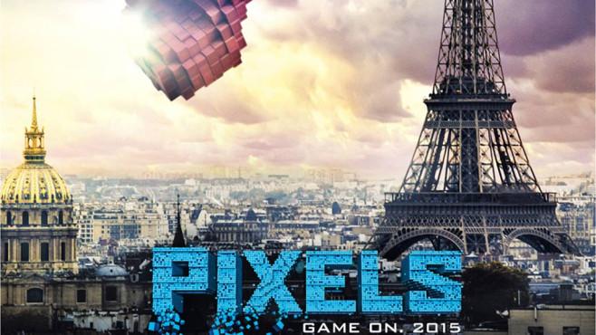Pixels Poster©Columbia Pictures