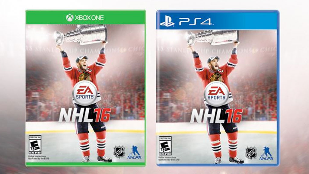 NHL 16: Cover © EA