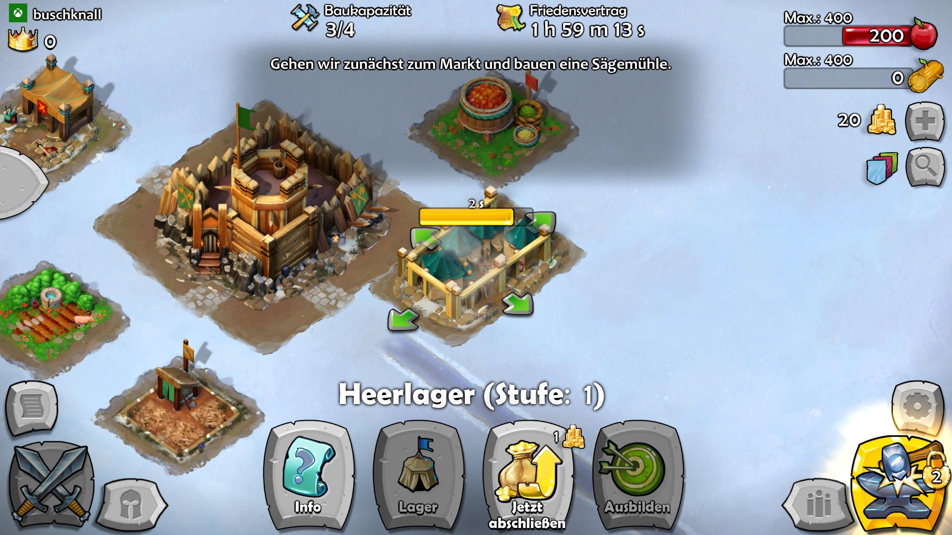 Screenshot 1 - Age of Empires: Castle Siege (Windows-10-App)