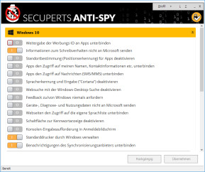 COMPUTER BILD-Spionage-Stopper 2018 (Anti-Spy für Windows 10)