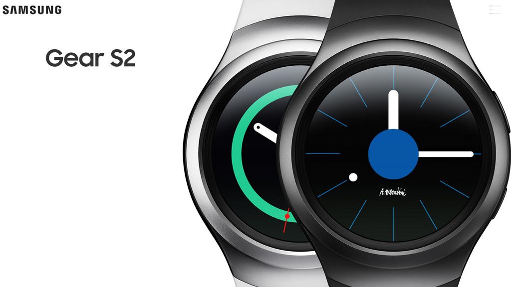 Smartwatch Samsung Gear S2©Samsung