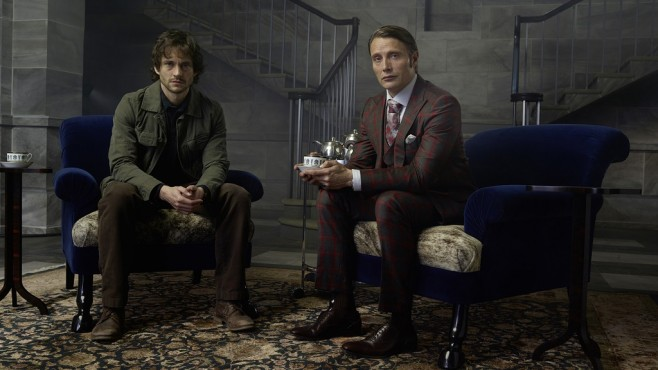 Hannibal: Hugh Dancy, Mads Mikkelsen © Chiswick 2 Productions, LLC