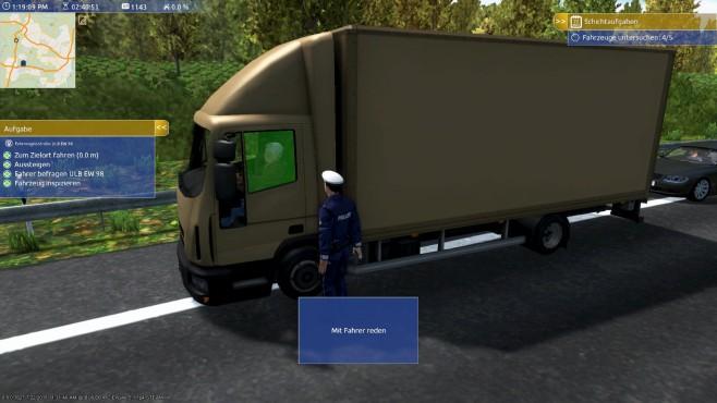 Autobahn-Polizei Simulator 2015: LkW©aerosoft