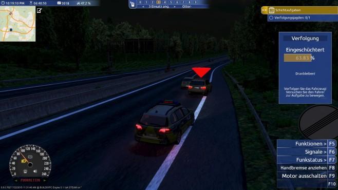 Autobahn-Polizei Simulator 2015: Nacht©aerosoft