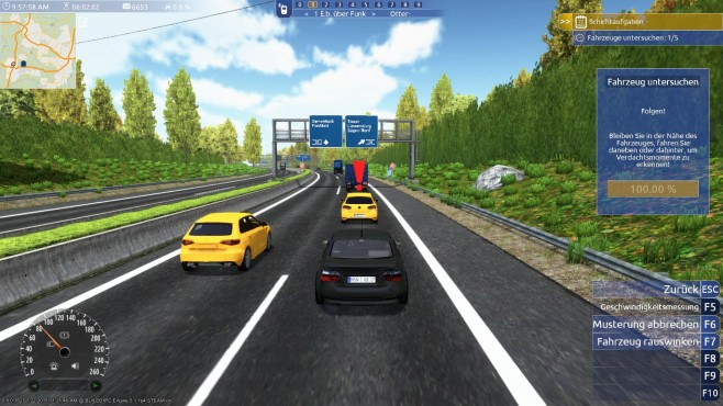 Autobahn-Polizei Simulator 2015: Straße©aerosoft