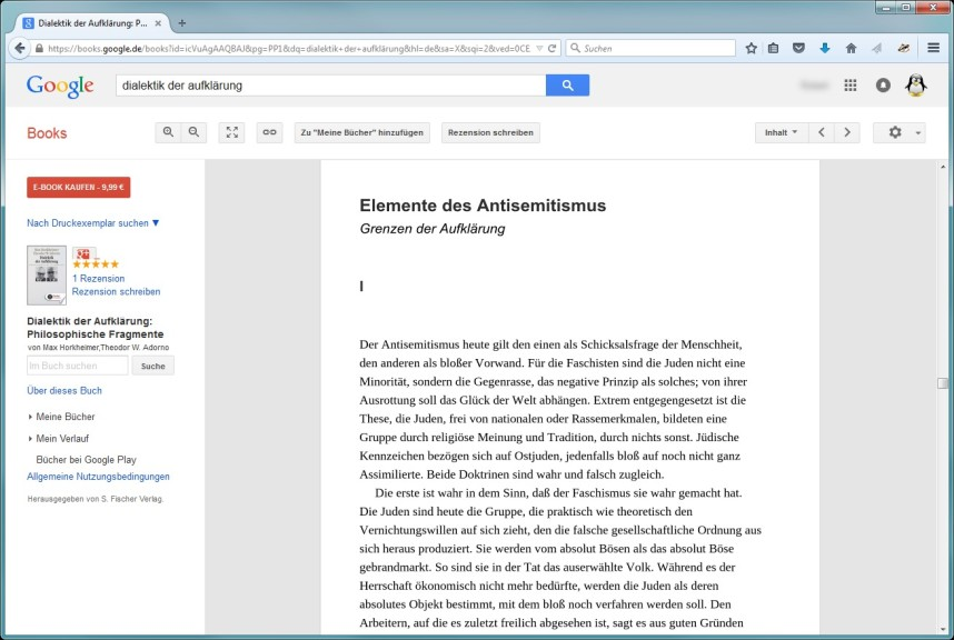Screenshot 1 - Google Books