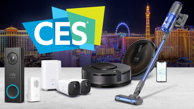 Die Smart-Home-Highlights der CES 2020 © CES, Anker, iStock.com/RandyAndy101