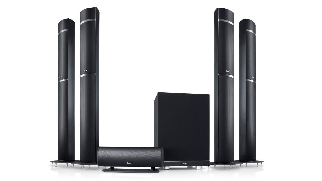 Teufel bringt LT5 Surround-System für Dolby Atmos Mit dem LT5 stellt Teufel zur IFA ein Dolby-Atmos-zertifiziertes 5.1.4-Set vor. Der Preis soll bei etwa 3.500 Euro liegen.©Teufel LT5