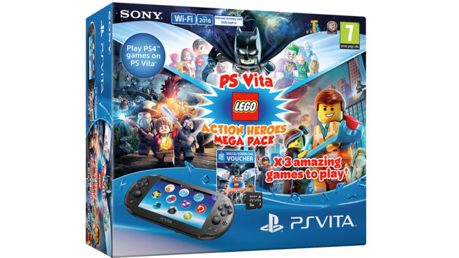 PS Vita: Lego Mega Pack©Sony