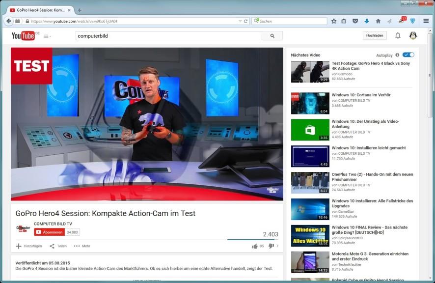 Screenshot 1 - YouTube