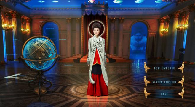 Imperia: Sternenkarte ©Steve Hawkins