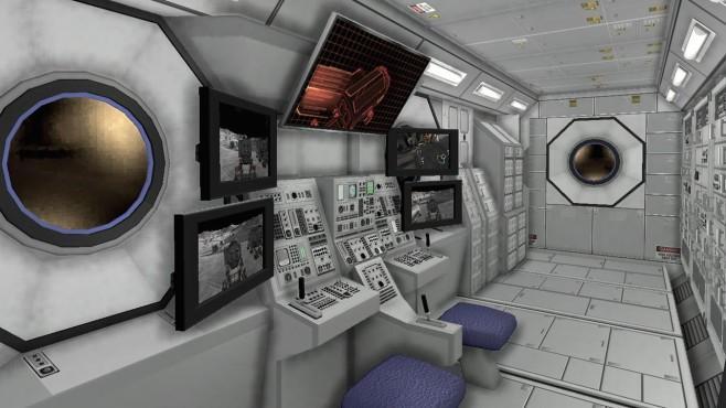 Moonbase Alpha: Monitore ©Nasa