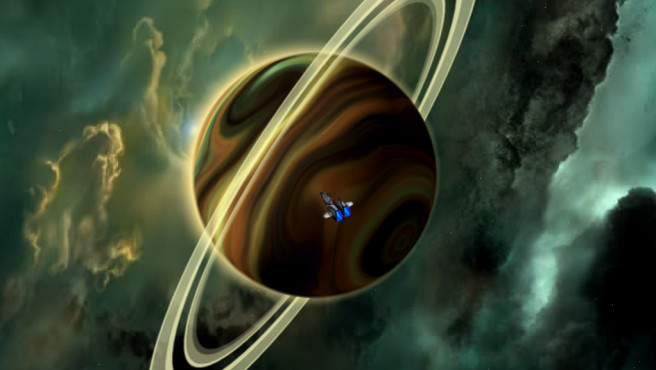 Naev: Saturn © Naev Development Blarg