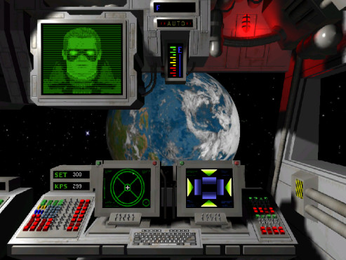 Wing Commander – Privateer Gemini Gold: Erde ©Privateer Gemini Gold Project
