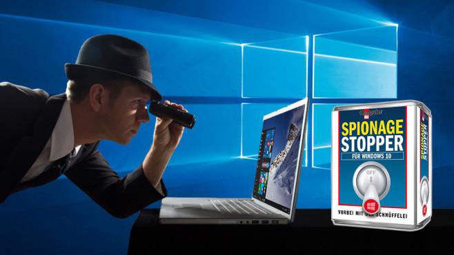 Platz 5: COMPUTER BILD-Spionage-Stopper für Windows 10 (neu) ©COMUTER BILD