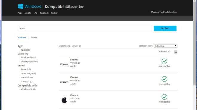 Platz 50: Windows-10-Kompatibilitätscenter (neu) ©COMPUTER BILD
