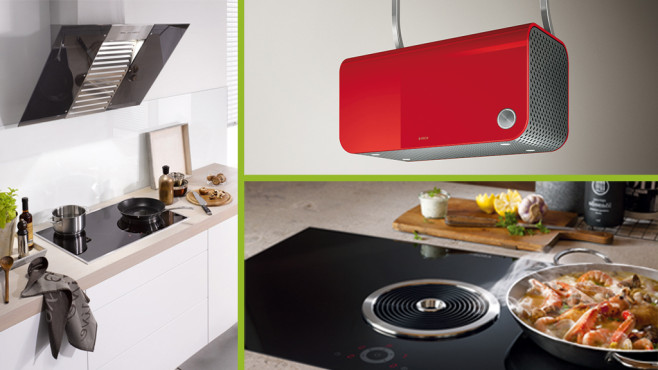 Extraction hoods elica design for the modern kitchen interior