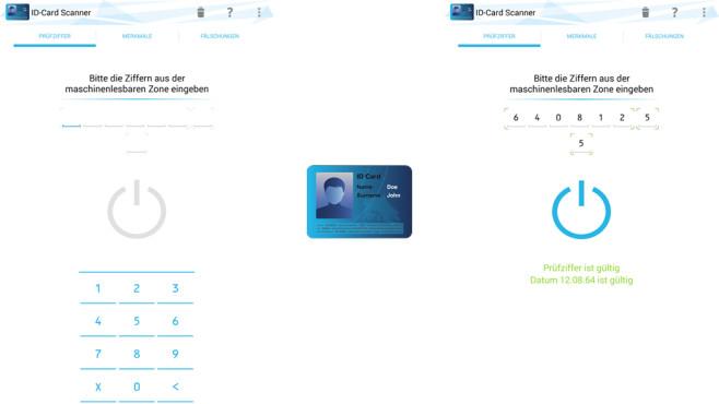 ID Card Scanner ©DROIDSPIRIT
