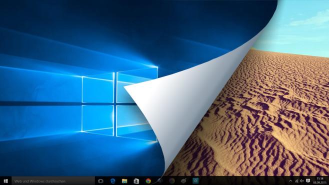 Windows 10: Desktop-Hintergrund ändern – so funktioniert es Keine Langeweile: Ewig dieselbe Kulisse auf dem Monitor zu sehen, muss nicht sein.©Microsoft, pico – Fotolia.com