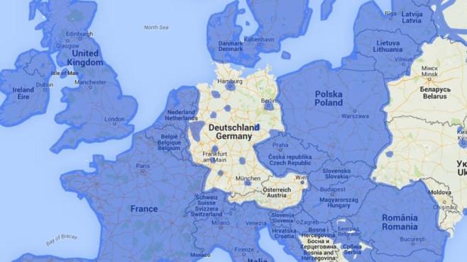 Google Street View: Europa-Vergleich©Google