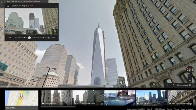Google Street View: Time Travel©Goolge
