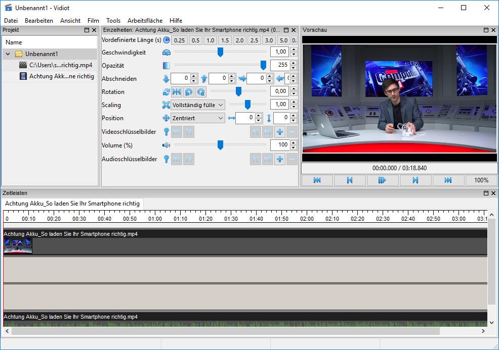 Screenshot 1 - Vidiot