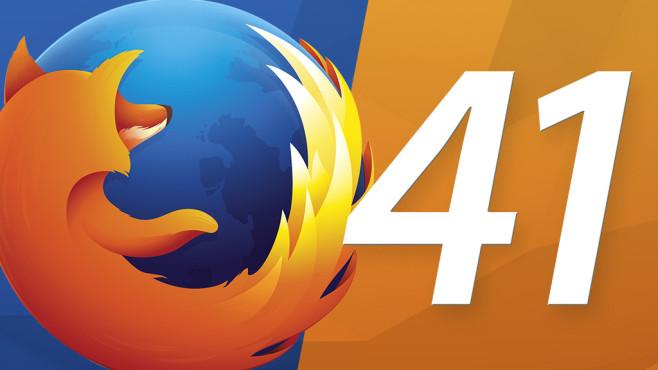 Firefox 41: Neue Browser-Version im Praxis-Test Für Firefox 41 hat sich Mozilla diverse Neuerungen einfallen lassen. Die wichtigsten zeigt COMPUTER BILD.©Mozilla