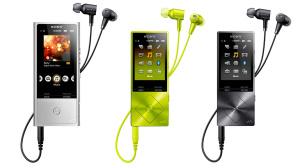 Sony NW-A25HN, NW-A27HN, NW-ZX100HN©Sony