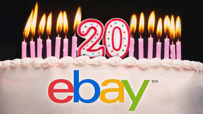 Ebay 20 Jahre©Ebay, ©istock.com/DNY59, ©istock.com/Zerbor