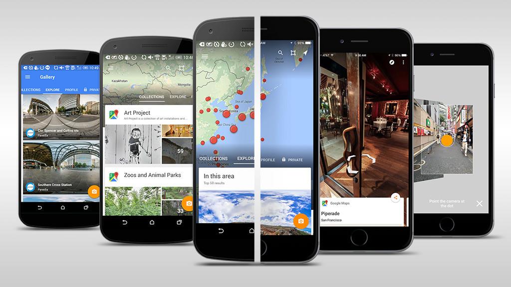 Google Street View Android App - COMPUTER BILD on