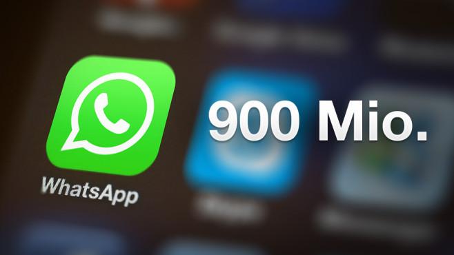 WhatsApp knackt die 900 Millionen©Whatspp,  ©istock.com/Orhan Veli