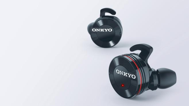 onkyo wireless in ear w800bt audio video foto bild. Black Bedroom Furniture Sets. Home Design Ideas