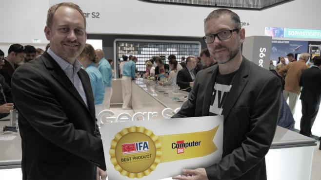 COMPUTER BILD IFA-Award©COMPUTER BILD