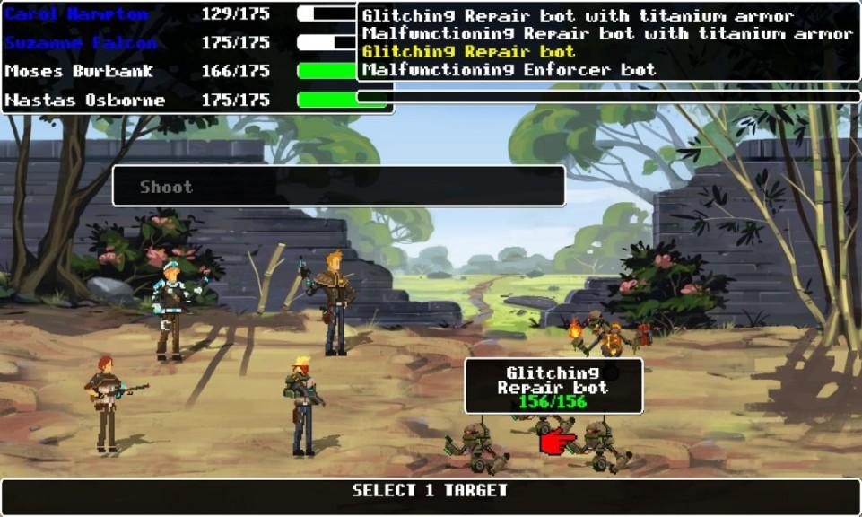 Screenshot 1 - Outlaw Space