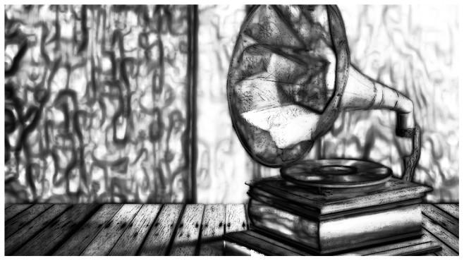 Künstlerisch Helle Skizze©iStock.com/Chinnasorn Pangcharoen